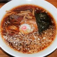 「らーめん(450円)」@八王子ラーメン専門店 麺屋 AJiTATSUの写真