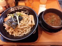 「つけ麺 黒醤油」@麺's room 神虎 なんば店の写真