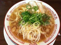 「太刀魚ラーメン(750円)」@香龍 呉店の写真
