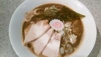 「濃厚豚骨魚介ラーメン)※1夜限定」@麺や 武蒼の写真
