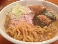 「Wスープらーめん 680円 (大盛 +100円)」@麺道 ともよし 東三国店の写真