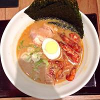 「海老味噌ラーメン」@宙寅屋 東京ソラマチ店の写真