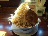 「味噌ラーメン 野菜大盛り」@喝力屋の写真