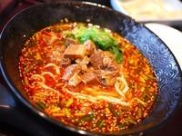 「無錫担々麺¥800」@中華 孔雀庁の写真