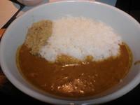 「ホット燻製カレー(辛口・並盛)700円」@燻製カレー くんかれ 日本橋人形町店の写真