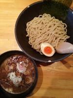 「つけ麺(中)」@麺や 松の写真