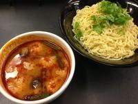 「トムヤムつけ麺 (720円)」@ラーメン大至の写真