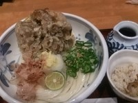 「まいたけ天ぶっかけ」@Udon Dining 悠讃の写真