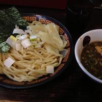 「煮干しつけめん 中盛」@すごい煮干ラーメン凪 渋谷東口店の写真