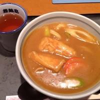 「名物カレーうどん(\840)」@若鯱家 品川シーサイドフォレスト店の写真