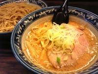 「味噌つけ麺 (野菜入り) 大盛無料」@札幌 味噌や 元住吉店の写真