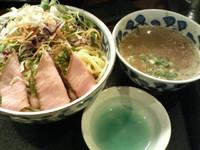 「濃厚洋風海老つけ麺+大盛」@らー麺屋 バリバリジョニーの写真