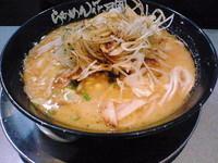 「黄金の味噌ラーメン+シャキネギ」@らあめん花月嵐 新秋津駅前店の写真