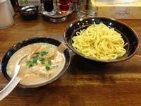 「塩つけ麺 1.5玉 850円」@らあめん 塩八の写真