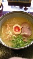 「鶏骨ラーメン(太麵)(700円)」@麺's たぐちの写真