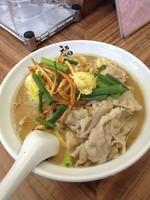 「豚味噌ラーメン麺硬め」@麺や 福座の写真