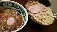 「特製海老つけ麺」@煮干中華そば 鈴蘭 新宿店の写真
