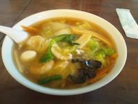 「五目湯麺800円」@香厨の写真