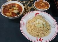 「冷やし味噌野菜(プチ麻婆丼)」@蒙古タンメン 中本 本店の写真