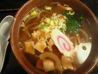 「肉そば 600円」@三松会館の写真