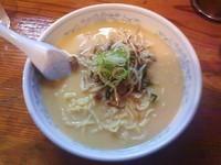 「味噌ラーメン 大(700円)+餃子(300円)」@日の出製麺所の写真