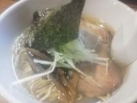 「鶏塩ラーメン」@らーめん マル汁屋の写真
