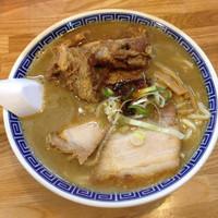 「超濃厚魚介ソバ 中730円+パイカ200円」@麺屋 らいぞうの写真