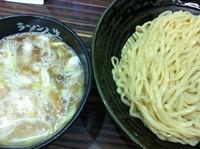 「鶏煮込みつけ麺」@ラーメン人生 JET 福島本店の写真