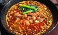 「無錫担々麺=800円」@中華 孔雀庁の写真
