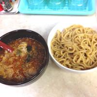 「辛口強麺」@麺屋 がむしゃらの写真