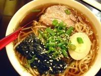 「醤油ラーメン(日式麺)」@村一番の写真