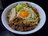 「特製油そば+にんにく」@麺屋 すんの写真