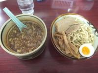 「づけ麺(裏、かつお)・あつもり680円(クーポンで500円)」@匠神角ふじ 柏店の写真