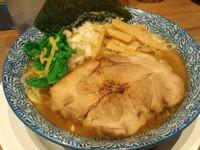 「菜の花にぼそば」@麺屋 狢〜むじな〜の写真