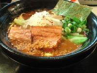 「焦がし特濃」@麺家 うえだの写真