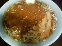 「カレー中華+半ライス」@中華洋食 萬満亭の写真