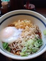 「朝そば(冷)300円」@蕎麦 一心たすけ 日本橋店の写真