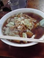 「スープ入り焼きそば(大)700円」@こばや食堂の写真