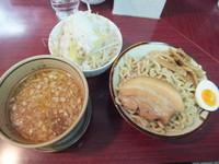 「づけ麺(ゆず、あつもり)680円&野菜100円」@匠神角ふじ 柏店の写真
