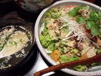 「汁なし坦々麺(ホワイト)890円」@熱烈タンタン麺 五味五香の写真