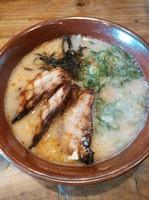 「白風(肉多め)」@麺工房 風の杜の写真