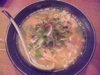 「鶏ごぼうラーメン味噌780円」@麺家 花蔵の写真