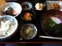 「限定ランチ(10食)」@そば処 暁庵の写真