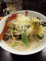 「五目野菜そば850円」@熱烈タンタン麺 五味五香の写真
