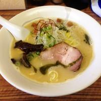 「鶏白湯の鶏塩ラーメン」@麺や 福座の写真