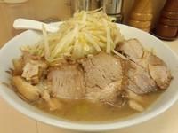「ラーメン(野菜少なめ ・ニンニク無し・ カラメ)」@自家製ラーメン 大者の写真