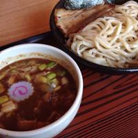 「濃厚魚介つけ麺 大盛り」@つけ麺 心心の写真