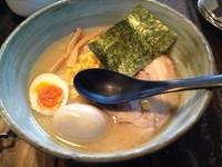 「きよつきラーメン(とんこつ細麺)/\750」@らーめん きよつきの写真
