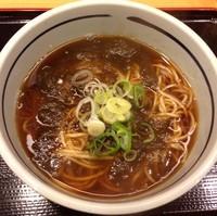 「とろろ昆布そば(¥320)」@吉そば 銀座本店の写真