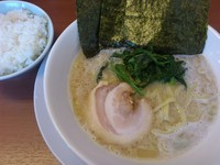 「塩豚骨ラーメン ¥690」@横浜家系ラーメン 松田家の写真